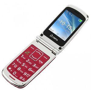 A Olympia Style Plus Rojo Tercera Edad Confort Telefono Movil