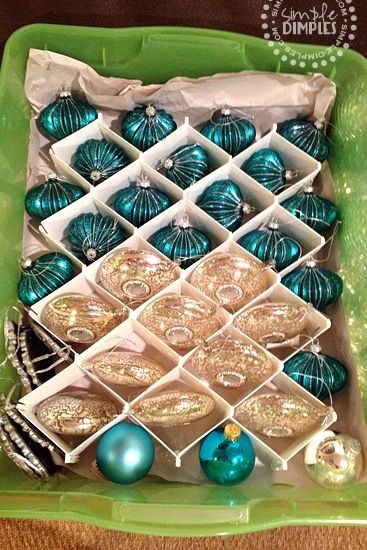 12 Creative Christmas Decoration Storage Ideas Organize Seasonal