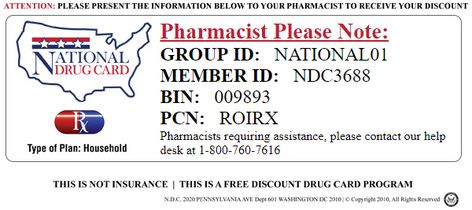 Save Money In The Pharmacy Use Free Discount Cards To Reduce Your
