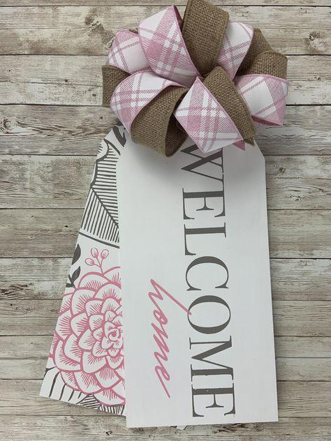 Welcome Home door tags
