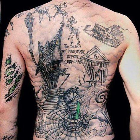 Nightmare Before Christmas Tattoos Designs-4