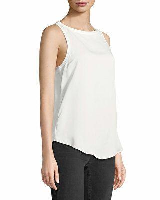 0900772104a Theory Designer Modern Racerback Silk Georgette Tank | Clothing ...