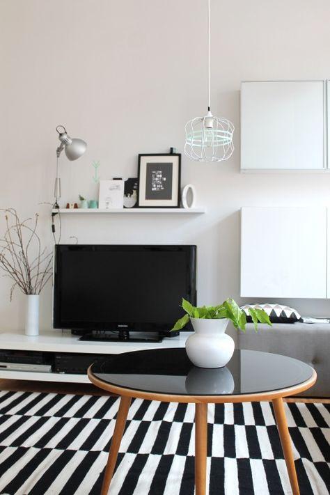 Black White Tags Schwarz Ikea Wohnzimmer Weiss