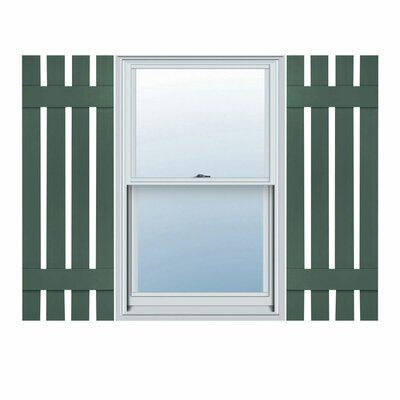 Eco Window Shutters Exterior Brick House Blinds In 2020 Board And Batten Shutters Shutter Colors Builders Edge