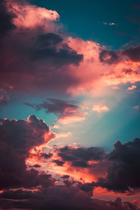 Photo Of Clouds During Dawn · Free Stock Photo