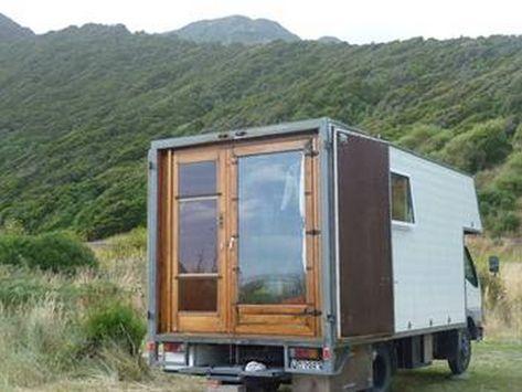 16 Gorgeous Box Truck Camper Van Conversion Vanchitecture Best Truck Camper Truck Camper Camper Van
