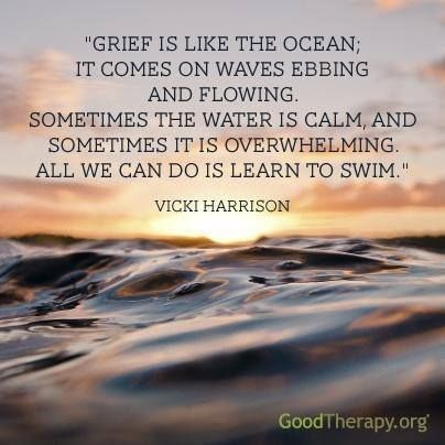 Grief Is Like The Ocean It Comes On Waves Ebbing And Flowing Love Funny Quotes And Inspirational Quotes About The S Grief Quote Loss Grief Quotes Grief Waves