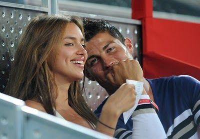 gorgeous couple - irina shayk & cristiano  ronaldo
