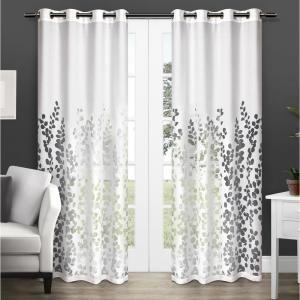 Wilshire 52 In W X 108 In L Sheer Grommet Top Curtain Panel In
