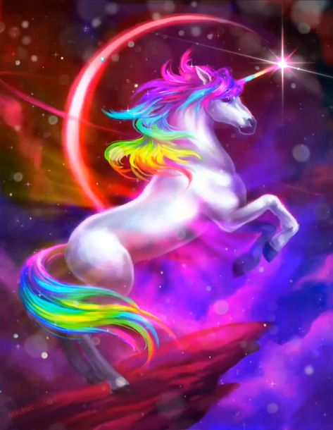 Some unicorn 🦄 love 💙💜💚💚💖 to get you through the day