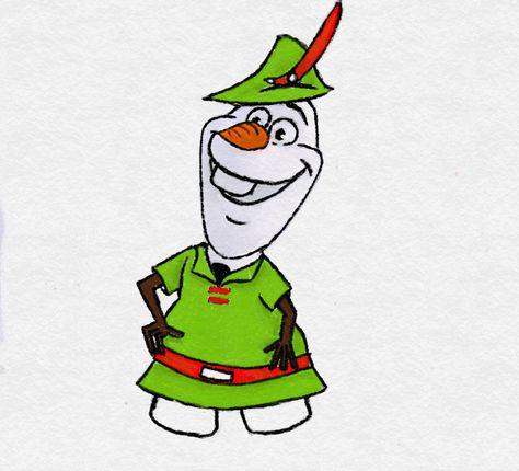 olaf as Robin Hood by TortallMagic on DeviantArt