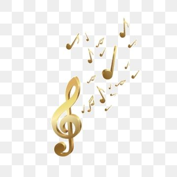 Golden Music Symbol E Commerce Taobao Tmall Png Transparent Clipart Image And Psd File For Free Download Music Symbols Clip Art Music Clipart