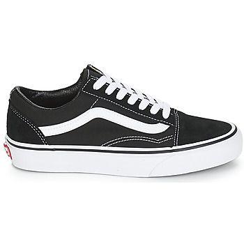 vans blanche old skool noir