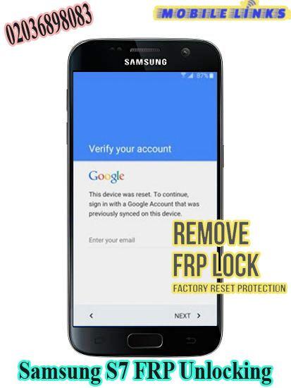 Samsung Galaxy S7 FRP Unlocking Service in 2019   Samsung