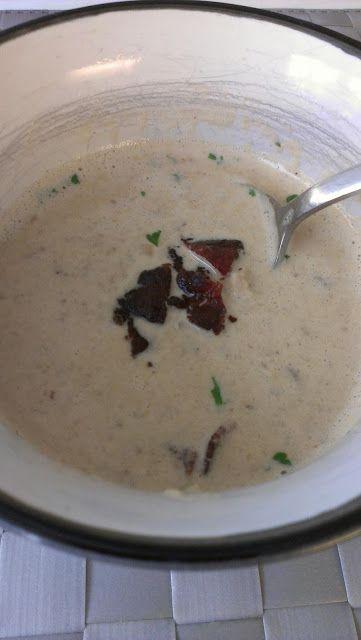 champinjonsoppa med potatis