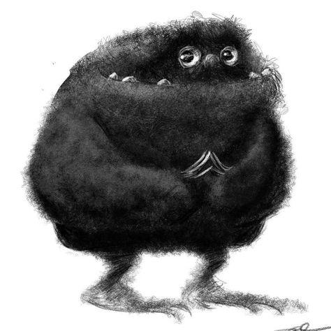 Rough Creature design for illustration job. ►get more rohitanshu◄