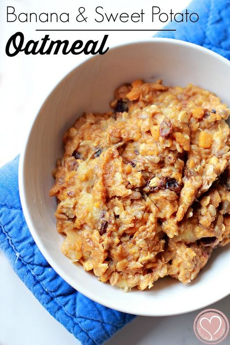 Banana and Sweet Potato Oatmeal: Easy Breakfast Recipe, all products available at Walmart