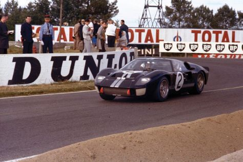 Fresh From A Full Restoration The 1966 Le Mans Winning Fo Ford