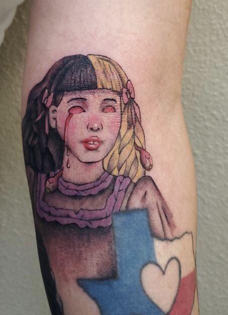Melanie Martinez Tattoo Cute Tattoos Tattoos Art Tattoo