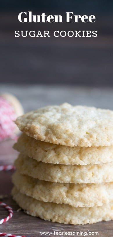 Best Gluten Free Sugar Cookie Recipe