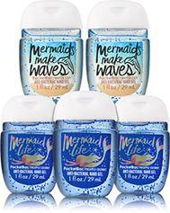 Holiday Unicorns Amp Mermaids Pocketbac Hand Sanitizers 5 Pack