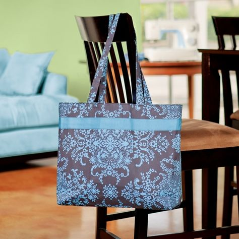 Everyday Tote Bag.  FREE Instructions.
