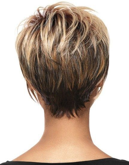 Frisuren kurzhaar hinterkopf (Chocolate Hair Diy) | Haircuts ...