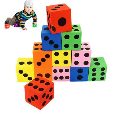 Ad Block Eva Foam Dice Spot Dice Six Sided Christmas Halloween Math For Children In 2020 Educational Baby Toys Games For Kids Puzzle Game
