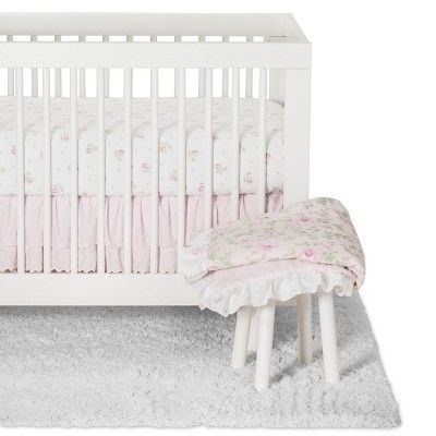 Crib Bedding Set Duchess Simply Shabby Chic Pink Shabby Chic Room Simply Shabby Chic Shabby Chic Interiors