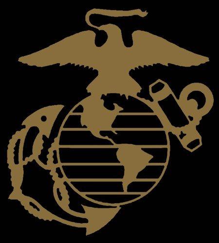 USMC Marine Corps Eagle Globe Anchor EGA Vinyl Decal Sticker | LilBitOLove - Housewares on ArtFire