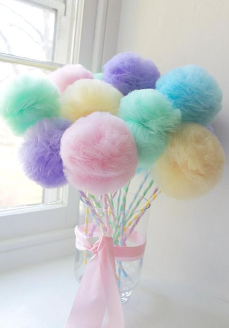 PRINCESS Princess Tulle Pom Pom Fairy Princess Drumsticks Feast of Favors Decora. PRINCESS Princess Tulle Pom Pom Fairy Princess Drumsticks Feast of Favors Decorations Choose your quantity: 10 12 15 Party Favors, Party Centerpieces, Centerpiece Decorations, Tulle Centerpiece, Room Decorations, Candy Christmas Decorations, Christmas Candy, Easter Tree Decorations, Lollipop Decorations
