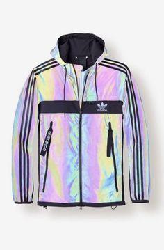 adidas zx xeno hologramm jacke