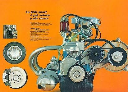 Fiat 850 Engine Swap Google Search With Images Fiat 850
