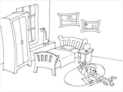 Dessin Chambre Enfant Dessin Chambre Ado Perspective En 2020 Chambre Enfant Chambre Ado Chambre A Coucher Peinture