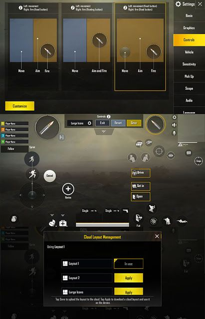 Cara Setting Control PUBG Mobile Terbaik dari Player Pro | Android ...
