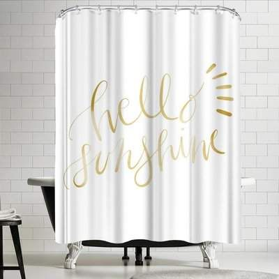 I Think This Shower Curtain Would Make Me Smile Every Time I Saw
