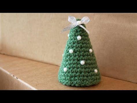 Regali Di Natale All Uncinetto.Albero Di Natale All Uncinetto Semplicissimo Youtube Viso