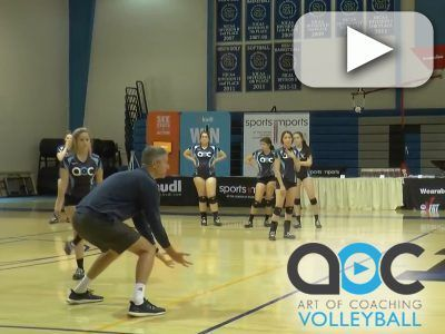 Watch As Coach Mike Sealy Ucla Explains And Players Demonstrate This Drill Focuses On Keeping Passers Coaching Volleyball Volleyball Skills Volleyball Drills