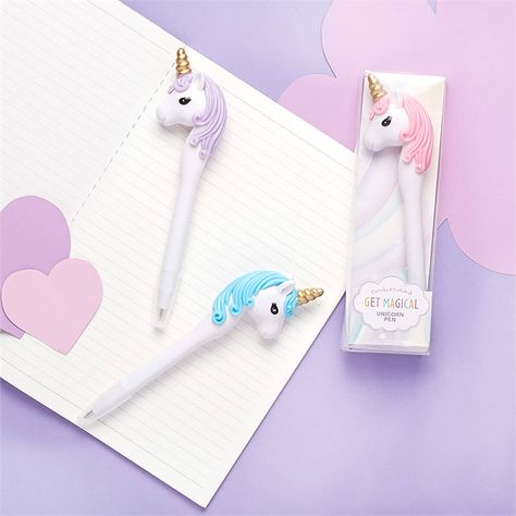Magical Unicorn Pen In Gift Box by red berry apple, the perfect gift for Explore more unique gifts in our curated marketplace.