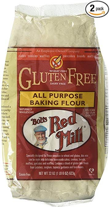 Bob S Red Mill All Purpose Gluten Free Flour 22 Oz 2 Pk Bobs Red Mill Gluten Free Baking Flour Bobs Red Mill