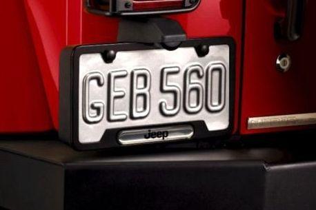 Jeep Wrangler License Plate Frame Jeep License Plate Frame License Plate Frames Plate Frames