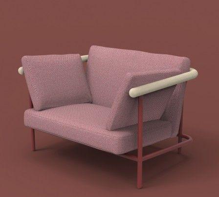 Alain Gilles Metal Wood Bois La Chance, Lachance Furniture Sofas