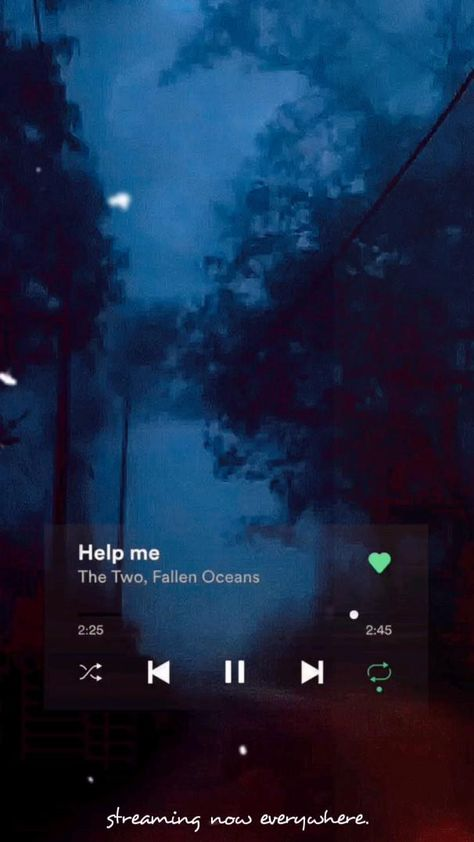 Song name-Help me by The Two & Fallen Oceans | Streaming  everywhere