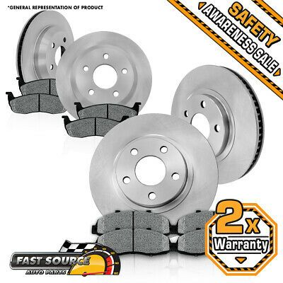Front And Rear Brake Rotors Metallic Pads For 2003 2004 2005 Dodge Ram 1500 In 2020 Brake Rotors Rear Brakes Ceramic Brake Pads