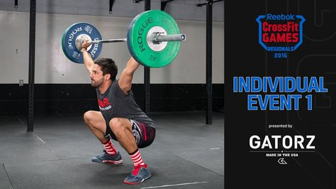 2016 Regional Individual Event 1 Announcement Team Events Reebok Crossfit Games Workout