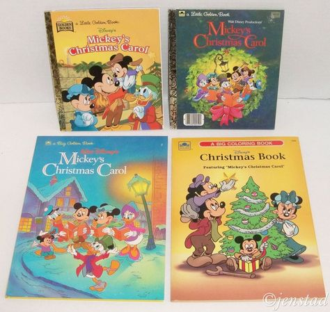 4 Piece Lot Disney Books Coloring Books Mickey S Christmas Carol Xmas Holiday Disney Princess Books Coloring Books Christmas Books