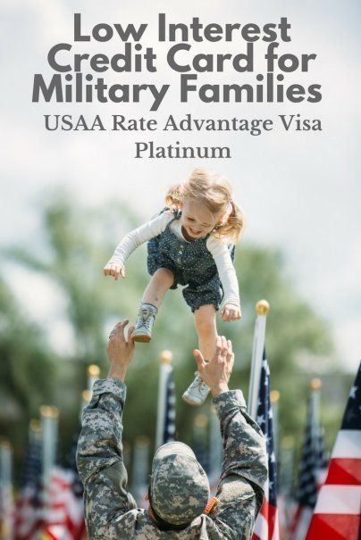 Low Interest Credit Card For Military Families Usaa Rate