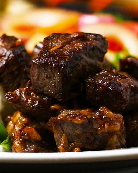 Vietnamese Shaking Beef Recipe By Tasty Recipe Recipes Food Beef Recipes