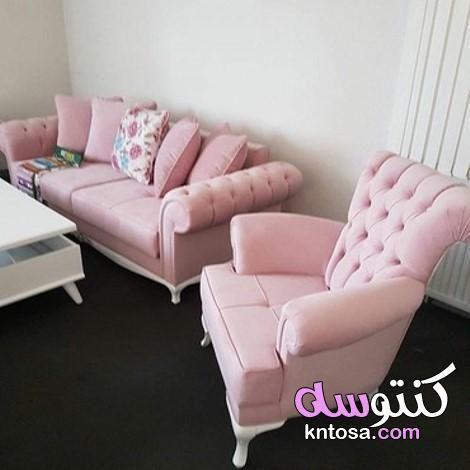 اللون الزهرى فى الديكور ديكورات بدرجات اللون الزهري لمنزل مفعم بالبهجة اللون الوردي موضة ألوان ديكور Furniture Sofa Furniture Sofa