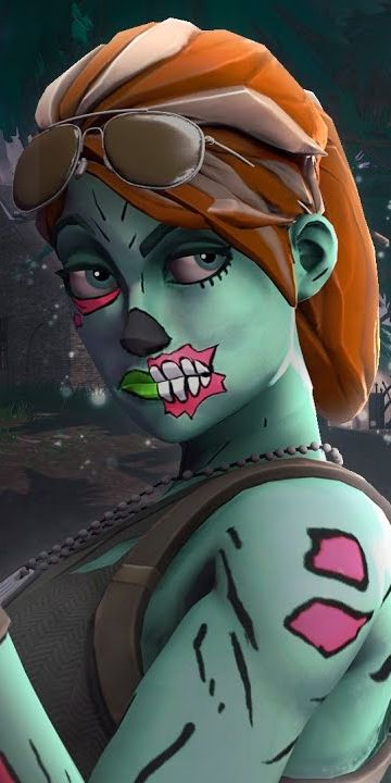 Chica Zombie Fortnite Skin Wallpaper Black Panther Art Zombie Girl Best Gaming Wallpapers Gucci black panther wallpaper
